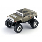 Mini monster truck - zelený RC model auta