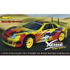 RC auto ON ROAD XEME  1/10, HSP, 4WD.