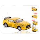 Mini RC kovové auto - žlutý sport