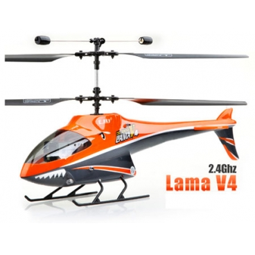 Esky Lama V4 2,4GHz - stabilní RC vrtulník