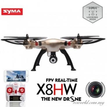 Syma X8HW 4 kvadrokoptéra RTF - SY8HW