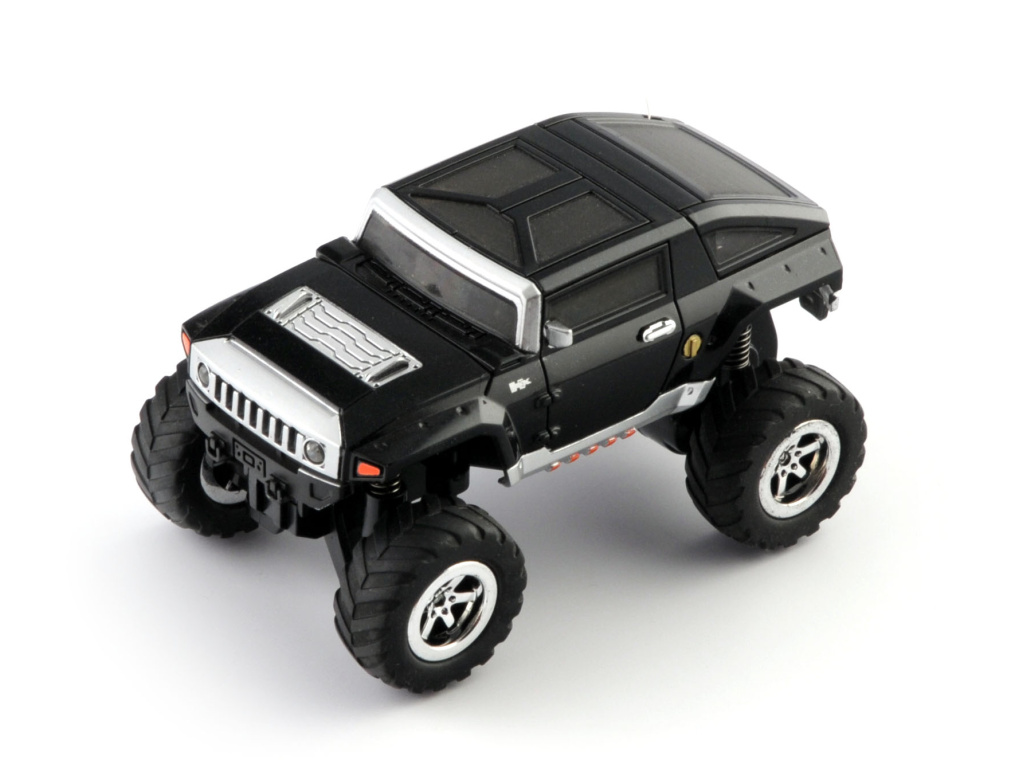 Mini monster truck - černý RC model auta