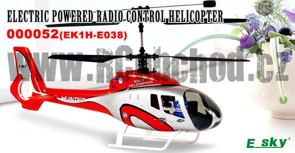 E-sky Hunter - RC vrtulník 2,4Ghz od E-sky
