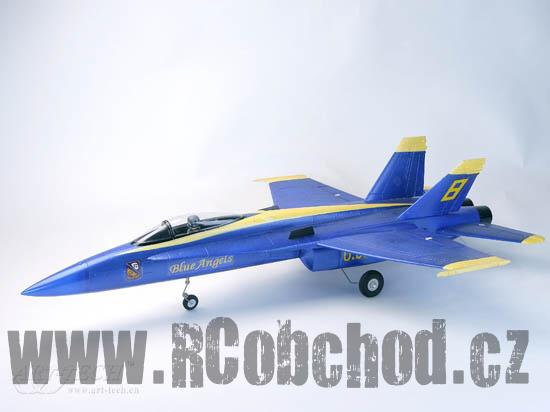 F-18 ARF - čtyřkanálové RC letadlo se střídavým motorem