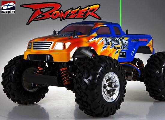 HBX Cross Tiger PRO 4x4 TG-01 - RC model auta - VYLEPŠENÁ VERZE