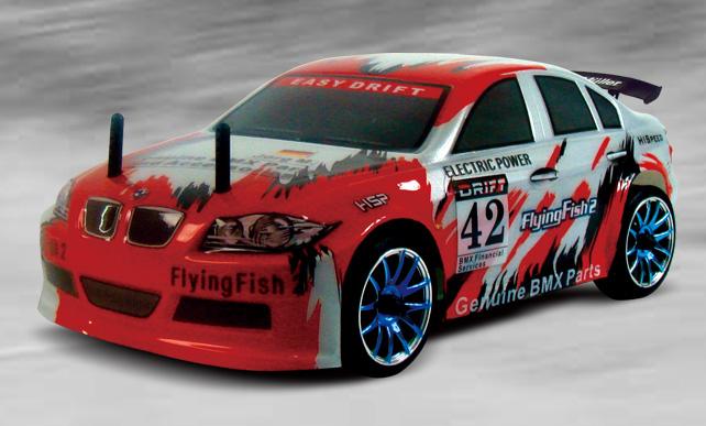 RC auto DRIFT - Flying fish 2, HSP, 1/16