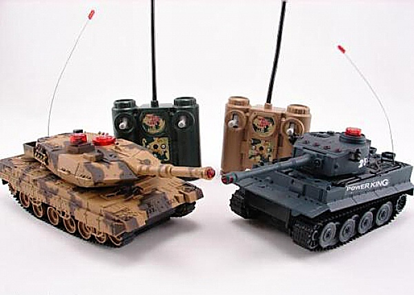 RC Fighting Tanks (2in1 set)