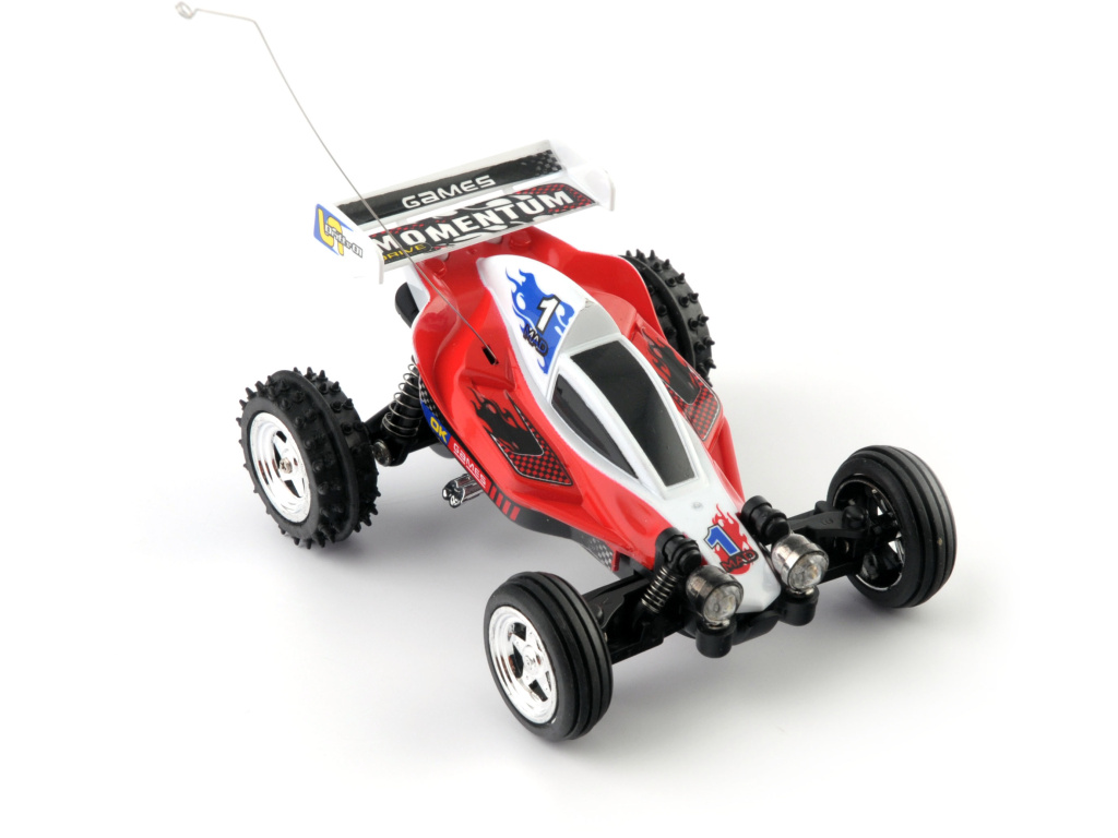 Mini buggy - červená RC model auta