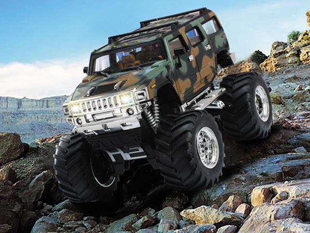 Mini RC model auta Hummer na Dálkové ovládání
