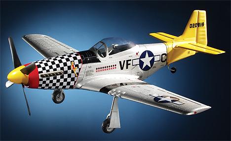 Mustang P-51D - 4ch - 2,4Ghz - střídavý motor - ART-TECH