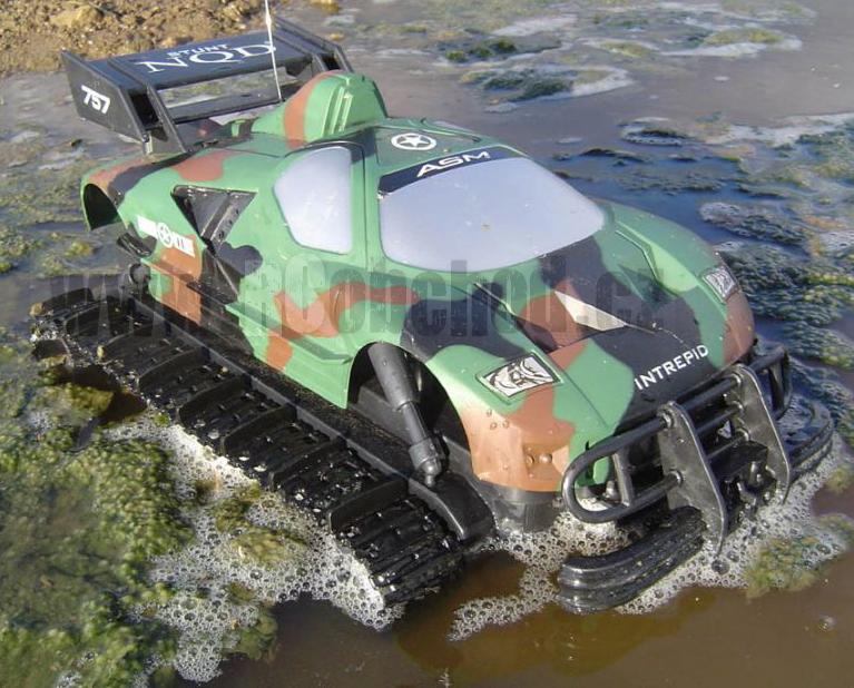 RC model obojživelník, voda, bláto , tráva, sníh SKLADEM