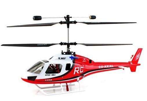 Esky Big Lama 2,4GHz - RC vrtulník - červená