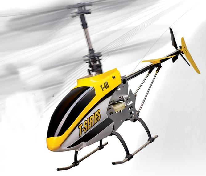 T-40C, 2.4GHz, RC vrtulník s kamerou