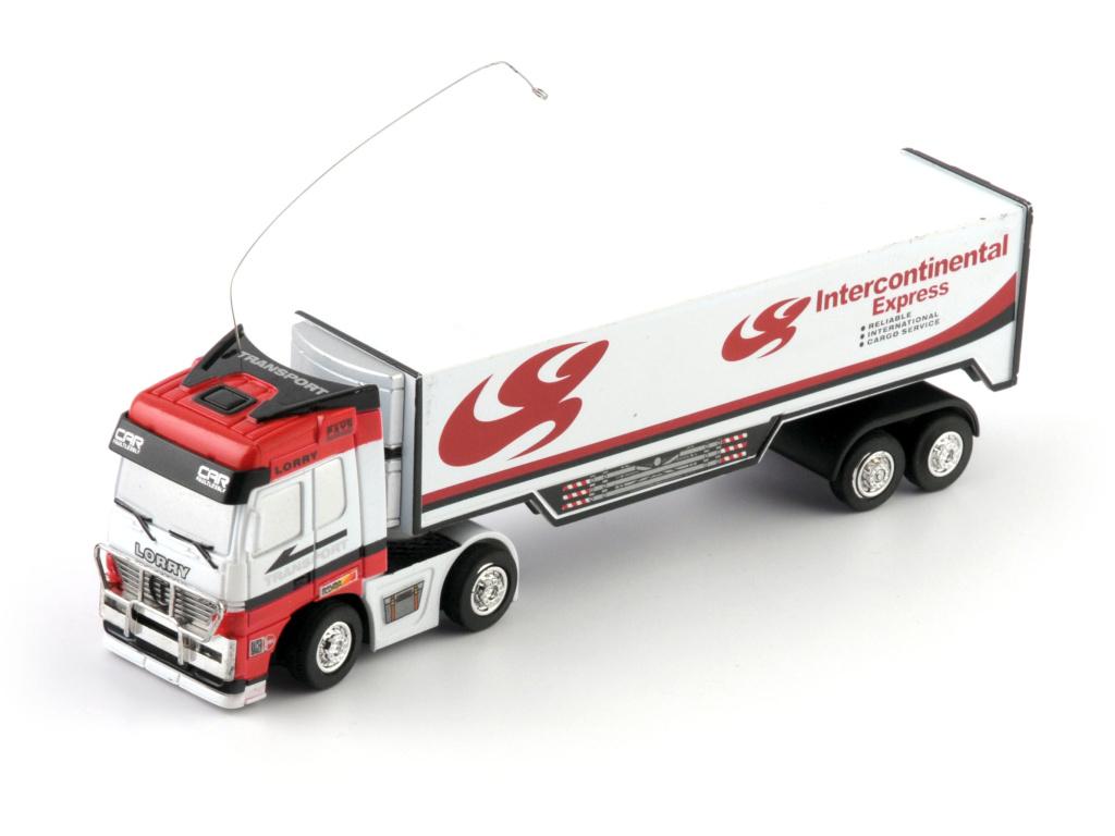 RC kamion bílý expres - Na dálkové ovládání
