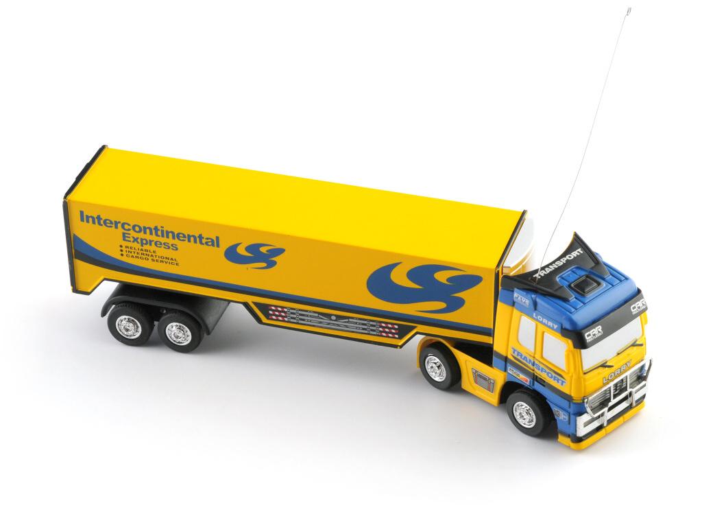 RC kamion žlutý expres - na dálkové ovládání