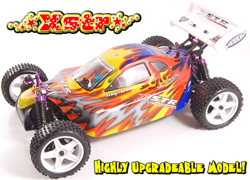 RC auto Buggy XSTR, 1:10, HSP, nově 2,4Ghz